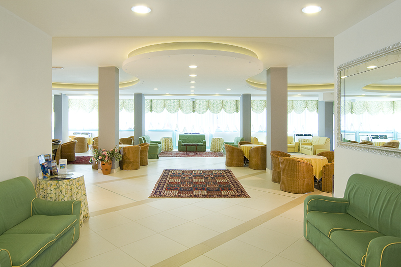 Salotto, Hotel Bolivar *** Jesolo